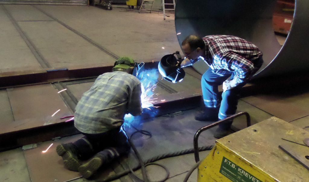 Ausbildung zum Konstruktionsmechaniker, Stahlbau Schäfer Dillingen
