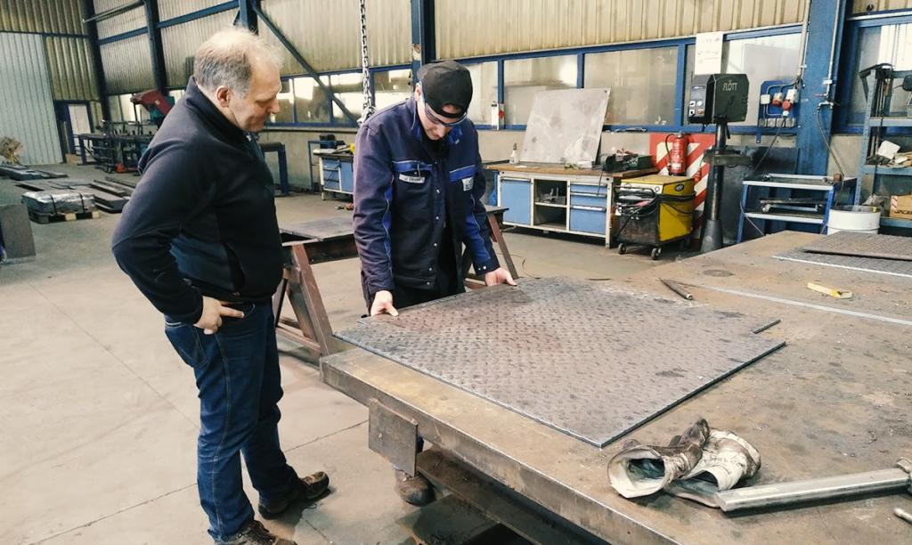 Ausbildung Konstruktionsmechaniker Stahlbau Schäfer Dillingen
