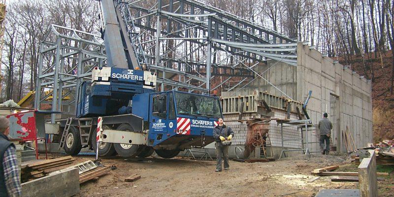 Stahlbaukonstruktion, Stahlbau Schäfer Dillingen
