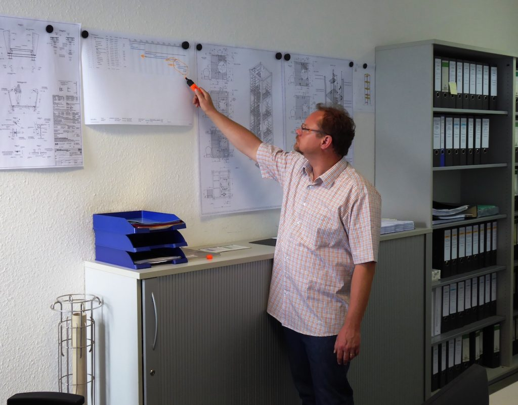 Projektleiter Stahlbau Schäfer Dillingen