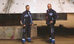 Schwerer Stahlbau Berufsbild